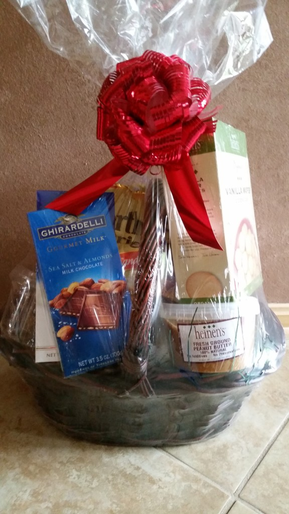 RAFFLE #46 HEINEN'S Thank you to Heinen's in Avon for donating this basket! • Assortment of Heinen's Food Products Value: $65 Raffle open to local participants only due to size.