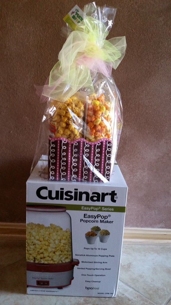 RAFFLE #73 The Tuck Shop & Cuisinart Air Popper Thank you to The Tuck Shop in Oberlin for the POPCORN and to Cuisinart for the Popcorn Popper!  The Tuck Shop, Oberlin, Basket of Goodies & Gift Certificate  From Cuisinart: Air Popper Value $60 Raffle open to everyone.