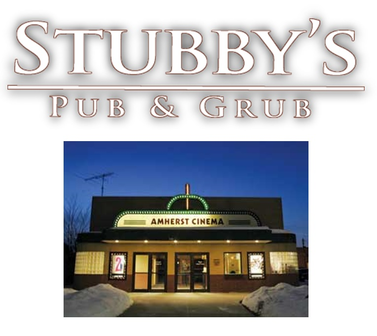 RAFFLE #72 Night out in Amherst Thank you to Amherst Cinema and Stubby's for this donation! • $25 Stubby's Gift Card • FOUR passes to Amherst Cinema $50 Local participants only.