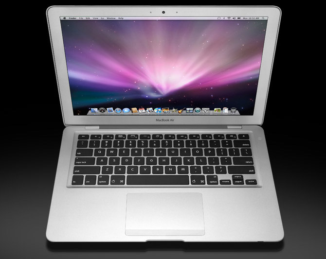 11-inch MacBook Air •Item Price:$999.00 Hardware • 1.3GHz Dual-Core Intel Core i5, Turbo Boost up to 2.6GHz • 4GB 1600MHz LPDDR3 SDRAM • 128GB Flash Storage • Backlit Keyboard (English) & User's Guide • Accessory Kit Software • OS X • iLife '11