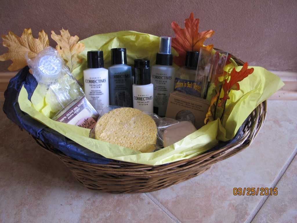RAFFLE #35 Beauty Basket Thank you to Paulette Giardini Smith for this donation. Gabriel Correctives Beauty Products: • Facial Shampoo • Corrective Grains • Normalizing Emulsion Gel • Sealent • Citri-Pro Face Spritzer And: • Sailor Soap • Olive Oil Soap • Himalayan Salt Chrystal • Lip Liner Brush • Make Up Sponge • Facial Cleansing Brush • Two sponges Value: $110 *Raffle open to everyone