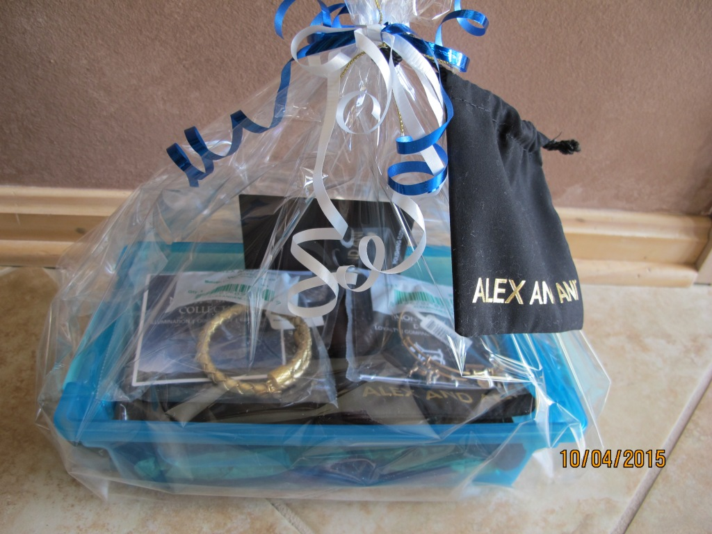RAFFLE #54 Alex & Ani Thank you to Mike & Kathy Zichi for donating these items! • Metalic Leather Wrap Bracelet • Loyalty, Compassion and Love (Monopoly Dog) Bracelet • Polishing Cloth Value: $76 Raffle open to Everyone.